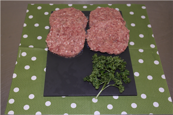 Beef and Red Onion Burgers (4 quarter pounders)